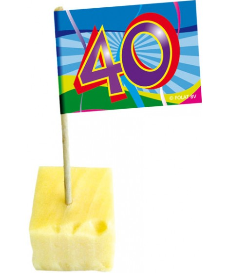Party-Picker 40.Geburtstag, 50er Pack