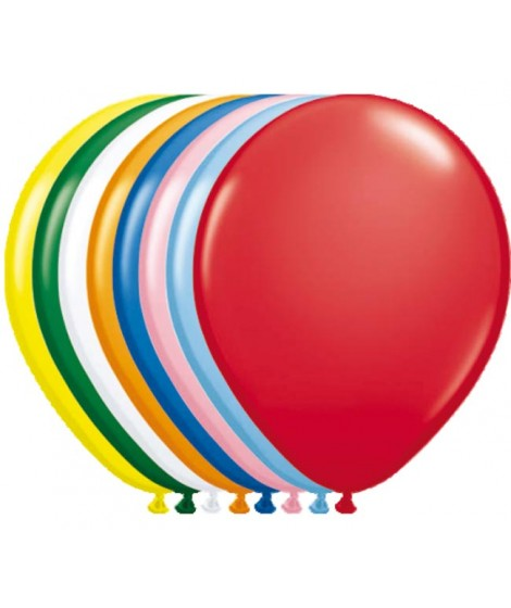 Ballon assorti gekleurd metallic