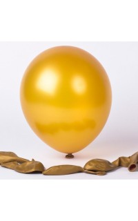 Luftballons Gold Metallic (100)