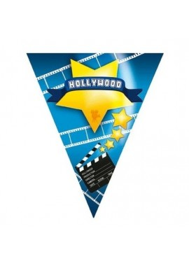 Wimpelkette Hollywood